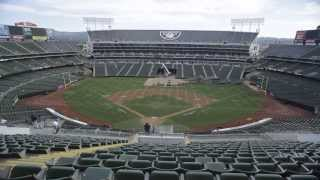Download O.co Coliseum Conversion Time Lapse Video Athletics to Raiders 10.5.13 - 10.6.13 Oakland, CA Video