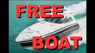 Download How to get a FREE BOAT (or almost free) 1 Video