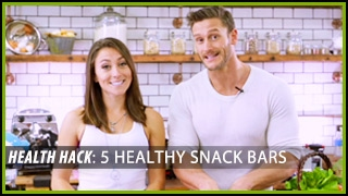 Download 5 Healthy Snack Bars: Health Hacks- Thomas DeLauer Video