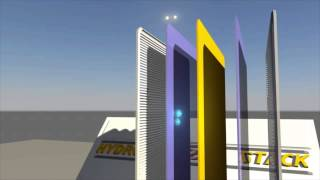 Download Hydrogen Fuel Cell Animation Video