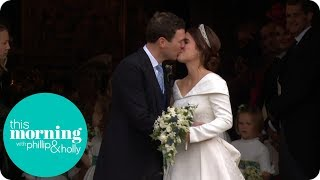 Download Princess Eugenie and Jack Brooksbank Share Their First Kiss | This Morning Video