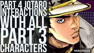 Download Part 4 Jotaro Interactions with Part 3 Cast (Jojo's Bizarre Adventure Eyes of Heaven) Video