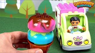 Download Best Preschool Toy Learning Video for Kids Learn Food Names Ice Cream Num Noms Lego Duplo Blocks Fun Video
