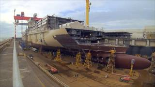 Download MSC Meraviglia Construction Time-lapse Video Video