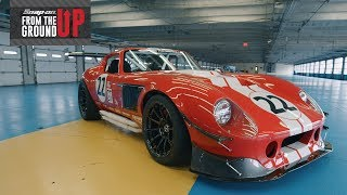 Download Joey Logano drives the Snap-on Factory Five Daytona Coupe | From the Ground Up™ Video