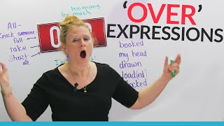 Download Phrasal Verbs & Expressions with OVER: ″take over″, ″overplayed″, ″over it″... Video
