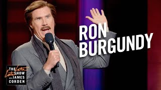 Download Ron Burgundy Stand-Up & Podcast Dream Guests Video