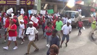 Download Barbados Labour Party Protest March Video