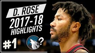Download Derrick Rose VINTAGE Offense Highlights 2017-2018 (Part 1) - Joining Timberwolves? Video