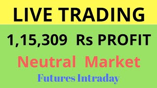 Download LIVE TRADING- 1.15 Lakh Profit - Daily Reality Vlog - Neutral Market - Not for Beginners Video