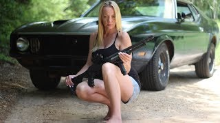Download Girl Uses 12 Gauge shotgun To Put Out Fire Video