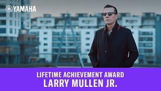Download Larry Mullen Jr. - Lifetime Achievement Award Video