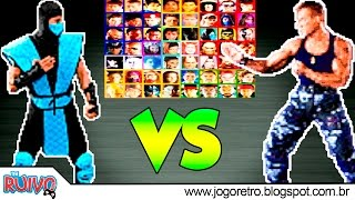Download Street Fighter: The Movie vs. Mortal Kombat (Super Real Fighter 2016) Video