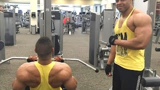 Download Back & Biceps Workout to Gain Muscle Mass @hodgetwins Video
