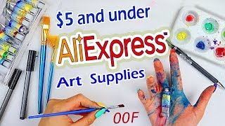 Download A BIG OOF... Trying AliExpress Art Supplies Video