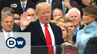 Download Donald Trump sworn in as 45th US president | DW News Video
