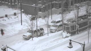 Download Boston Blizzard Neptune Boston MBTA Train Plows Through Snow 2-15-20 Video