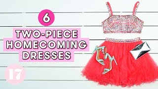 Download 6 Cutest Two-Piece Homecoming Dresses | Style Lab Video