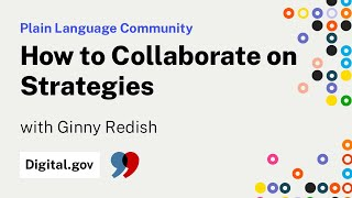 Download Ginny Redish: How to Collaborate on Strategies Video