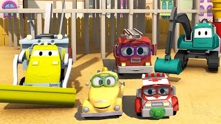 Download Construction Squad: Dump Truck, Crane, Excavator & Baby Cars build Paint Shooting Ran Video