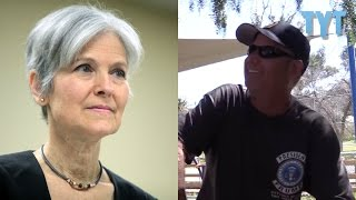 Download Trump Supporter Who Worked For... Jill Stein?! Video