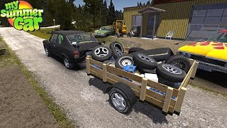 Download SUPRIMENTOS PRO INVERNO E NOVA CARRETINHA! My Summer Car Video