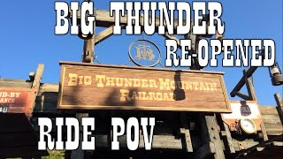 Download (HD)RE-OPENED Big Thunder Mountain Railroad at Magic Kingdom after refurb 11-19-16 HD Video