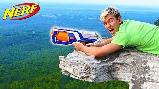 Download WORLD RECORD NERF SHOT!! Video