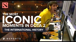 Download The Most ICONIC Moments in The International History (Dota 2) Video