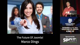 Download JWC 2016 - The Future of Joomla - Marco Dings Video