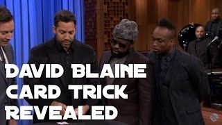 Download David Blaine Card Trick on Jimmy Fallon REVEALED! Video