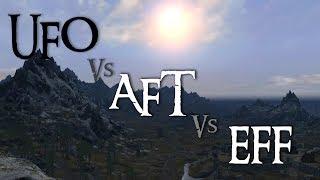 Download Skyrim Mod Comparison - UFO Vs. AFT Vs. EFF Video