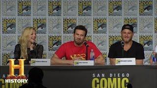 Download Vikings: Season 4 SDCC Cast Panel (San Diego Comic-Con 2016) | History Video