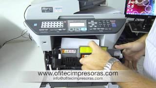 Download Atasco papel impresora laser multifunción 8880DN Brother Video