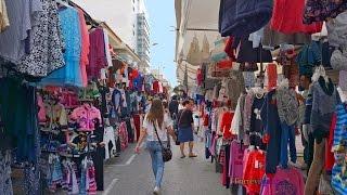 Download Straßenmarkt in Guardamar del Segura Video