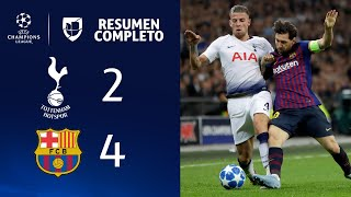Download Tottenham 2-4 Barcelona - GOLES Y RESUMEN - Grupo B UEFA Champions League Video