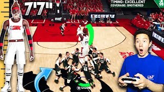 Download CAN 9 5'4″ CENTERS STOP MY 7'7″ POINT GUARD FROM SCORING!? (GAME BREAKING) - NBA 2K19 Video