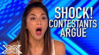 Download ANGRY and UPSET Contestants ARGUE With Each Other On The X Factor UK | X Factor Global Video