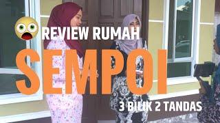 Download REVIEW rumah CUN RM120K shj... 3 bilik tidur, 2 Tandas termasuk pagar. Video
