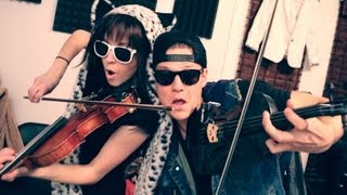 Download Thrift Shop - Lindsey Stirling & Tyler Ward (Macklemore & Ryan Lewis Cover) Video