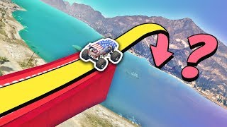 Download GTA 5 | Can you JUMP OVER the ALAMO SEA? Video