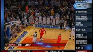 Download Syracuse's 6OT Win over Connecticut 2009 (Sportscenter Highlights) Video
