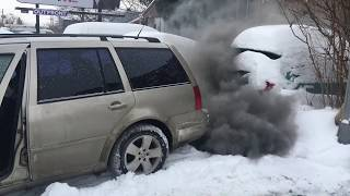 Download Tdi cold start -31°C straight pipe Video