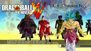 Download Dragon Ball Xenoverse - How To Make Broly SSGSS - CaC Video