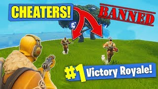 Download Killing CHEATERS In Fortnite Battle Royale! Video