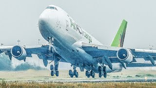 Download A TENT for a BOEING 747 - FIRST B747 FLIGHT after 7 MONTHS (4K) Video