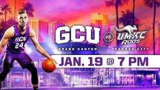 Download GCU Men's Basketball vs. UMKC Jan 19, 2019 Video