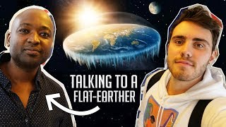 Download Meeting & Interviewing A Flat-Earther! Video