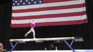 Download MyKayla Skinner - Balance Beam - 2016 P&G Gymnastics Championships - Sr. Women Day 2 Video