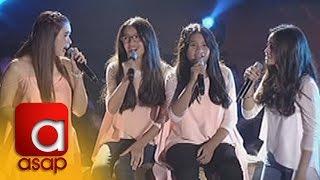 Download ASAP: Sunshine Cruz sings ″Hulog Ng Langit″ with her Tres Marias Video